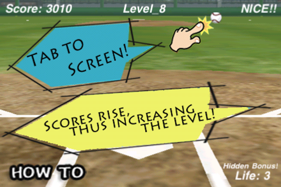 Screenshot Catch Balls