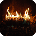 iYuleLog (with soothing crackling fire sound)