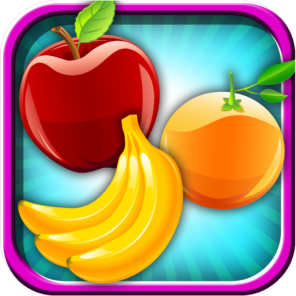A Fruit Swipe Tap Match Free - New Puzzle Logic Matching Fun